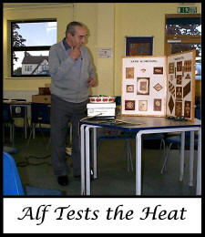 Alf tests the heat